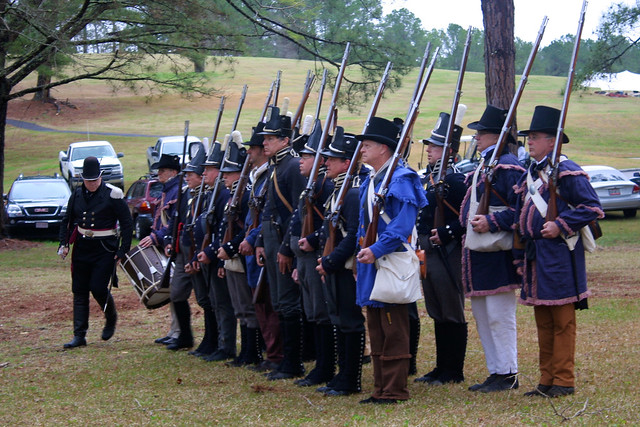 200th anniversary of the battle at horsehoe bend  - 09