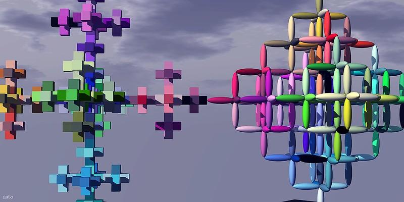 3D Fractals - II