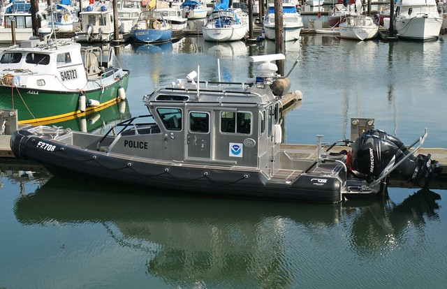 NOAA enforcement boat
