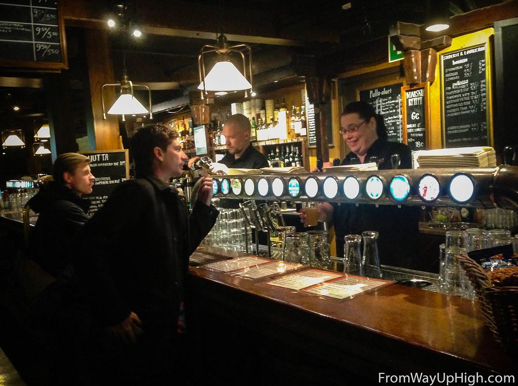 Bruuveri bar Helsinki