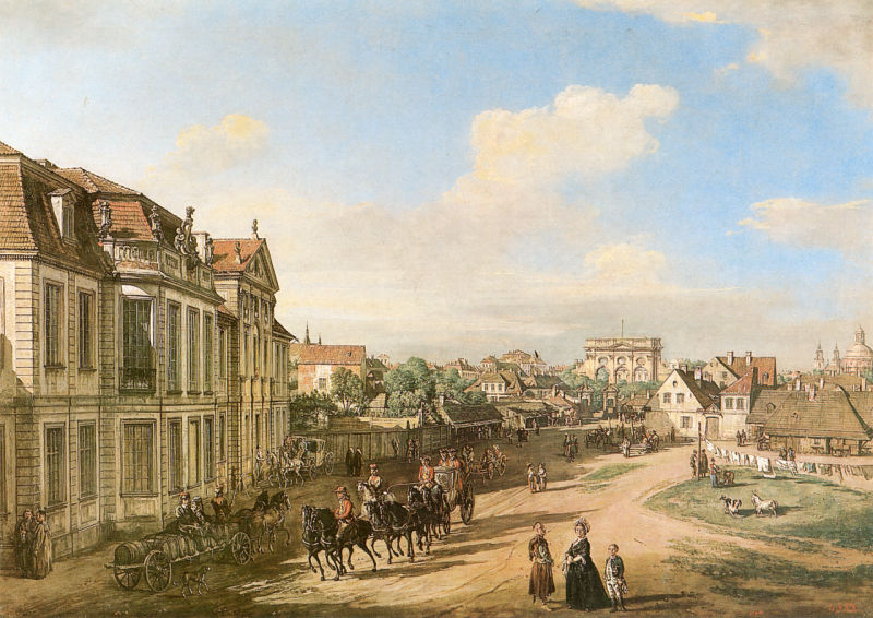 十八世纪华沙风景画12