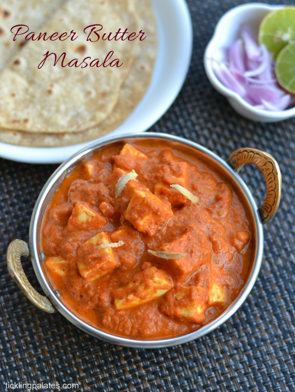 Paneer butter masala recipe easy paneer recipes no onion no paneer butter masala recipe forumfinder Choice Image