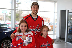 Jay Beagle Autographs at Sport Chevrolet