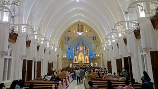 Thrissur Our Lady of Lourdes Metropolitan Cathedral Thirunal 5