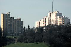 Canteleu vue depuis le Kindarena à Rouen