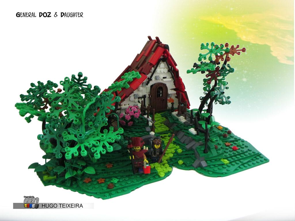 General DOZ And Daughter (custom built Lego model)