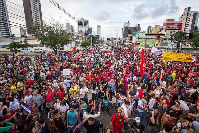Ato publico contra a Reforma da Previdência - 31/03/2017