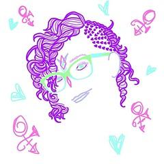 #art of @beccawonka ! #artist #sketch #doodle #flowy #flowing #colour #cyan #moleskine #purplerain #vaporart #vaporwave #aesthetic #trippy #psychedelic #neon #pastelgoth #abstract #abstractart #cyberpunk #graffiti #seapunk #stickerart #toronto #phoenix #l