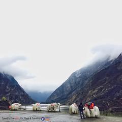 #ทะเลสาบเตี๋ยซี ระหว่างทางที่จะไป #จิ่วจ้ายโกว
