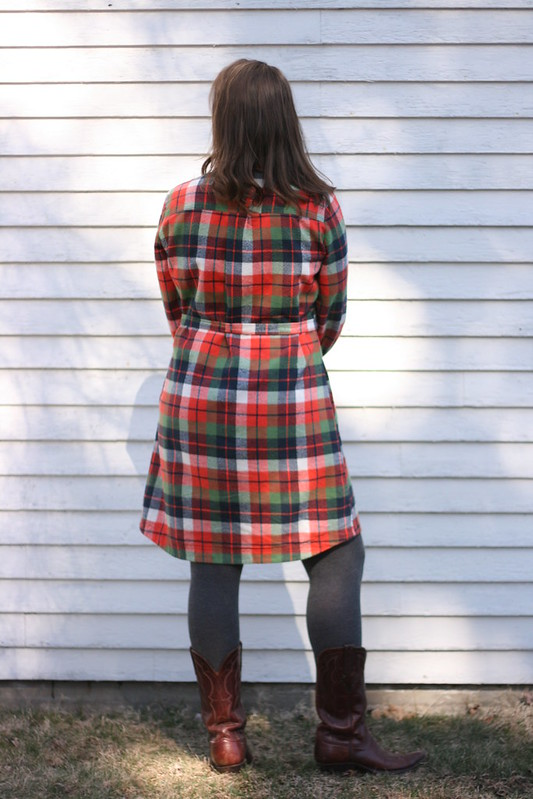 Simplicity 8014 in Mammoth Plaid