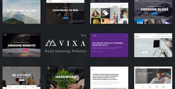 Vixa WordPress Theme free download