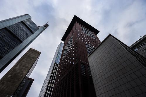 Frankfurt skyscrapers from Toni Hoffmann