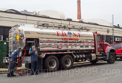 FDNY Fleet Services Fuel Truck, Blissville, Queens, New York City