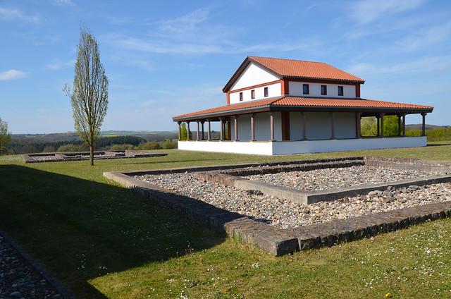Archaeological Park Martberg, Pommern, Germany