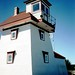 Fort Point Lighthouse at Liverpool, Nova Scotia by Joseph Hollick