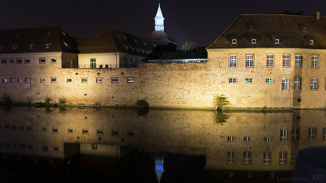 Strasbourg's historic beauty shines by night