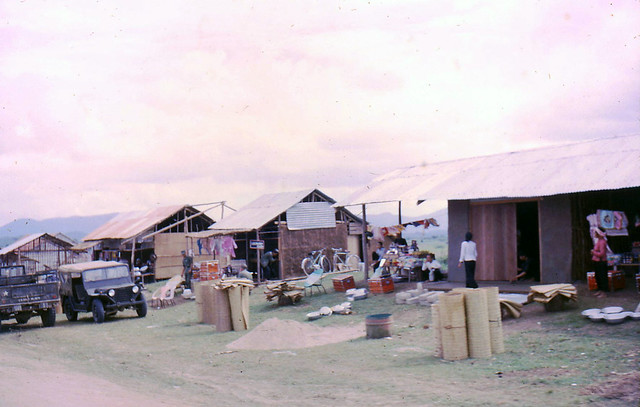 Roadside Stands Rt 19, Dec 65 - Photo by Hallstrom