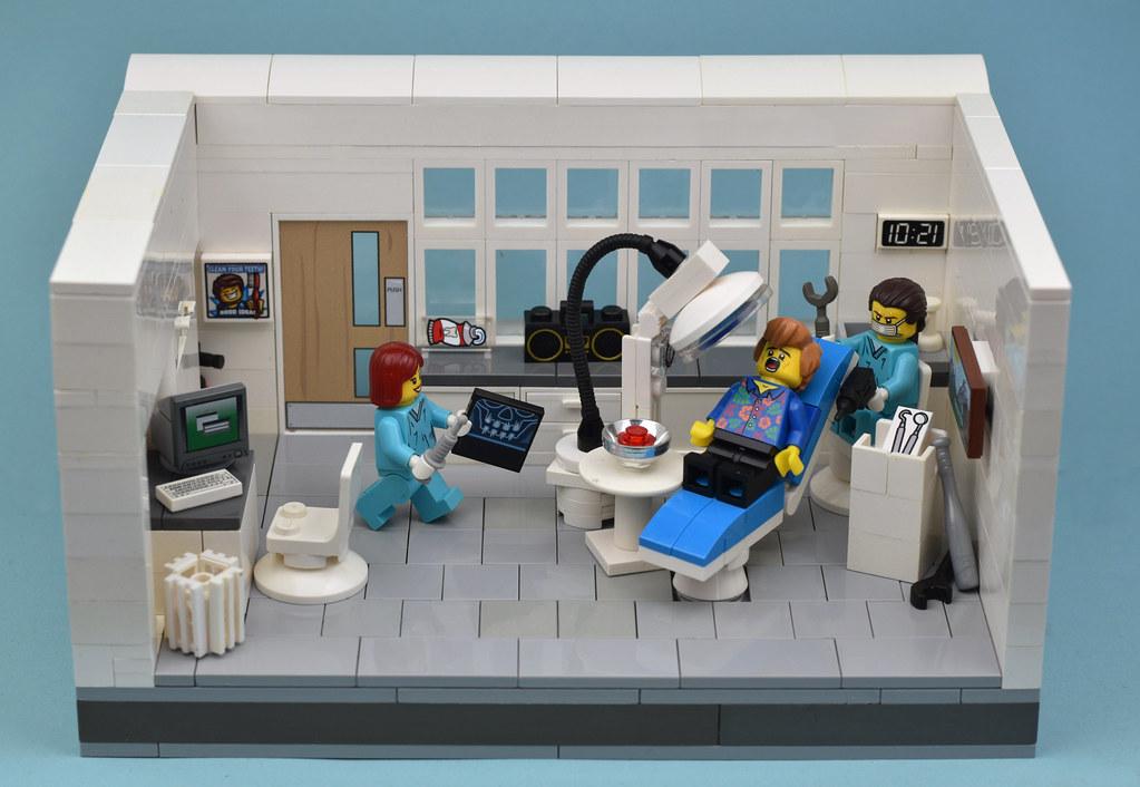 Open Wide Please (custom built Lego model)