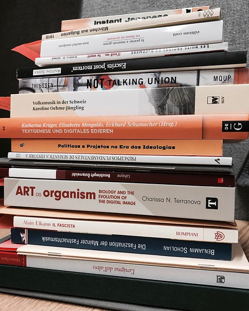 Thursday's Work #work #books #cataloging #techservices #libraries