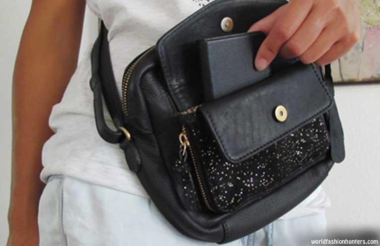 Hand On Your Bag