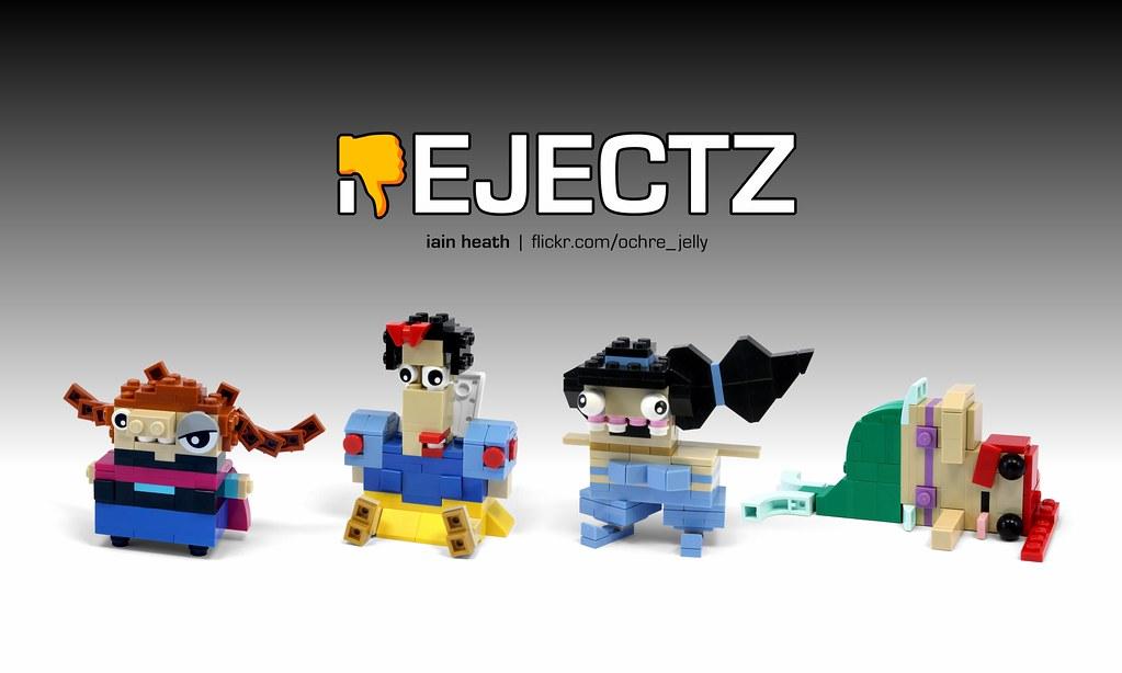 REJECTZ Series 2 – Disney Princesses (custom built Lego model)