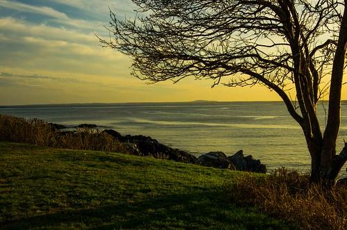 kennebunkport oceanave sunset maine mtagamenticus
