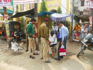 Varanasi 257c Godowlia Crossing