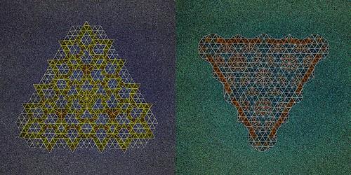 Sand - Tessellation (Marjan Smeijsters)