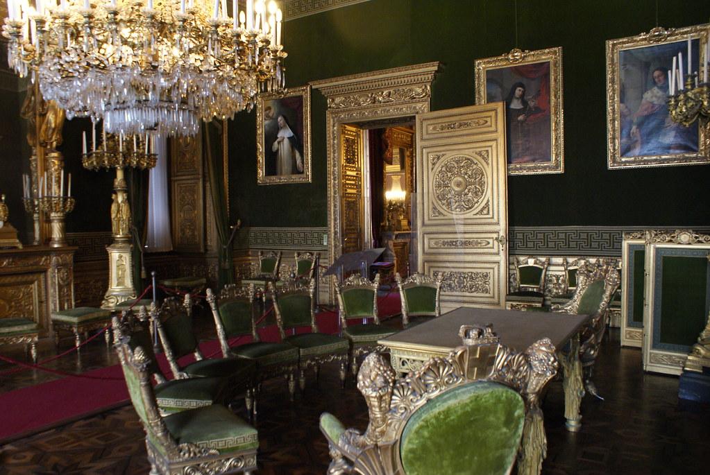 Salle du Palais Royal de Turin.