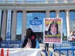 #autoexplotacion solidaritat CGT Metall a #salonauto amb sindicalista de #colombia de #asotrecol de #GM