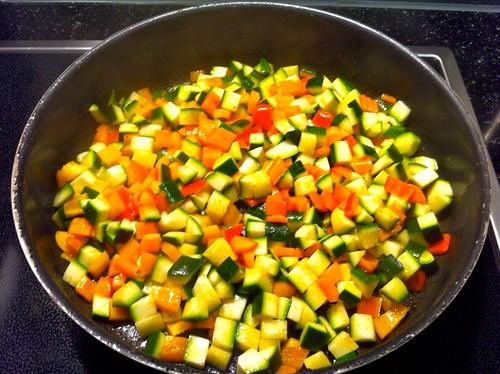 Paprika, Zucchini