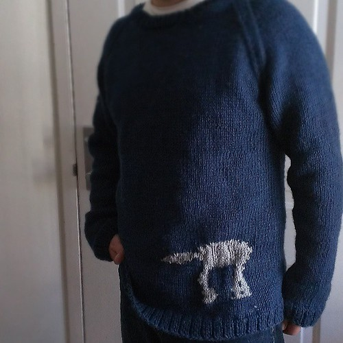 AT-AT Sweater #starwars #knitting