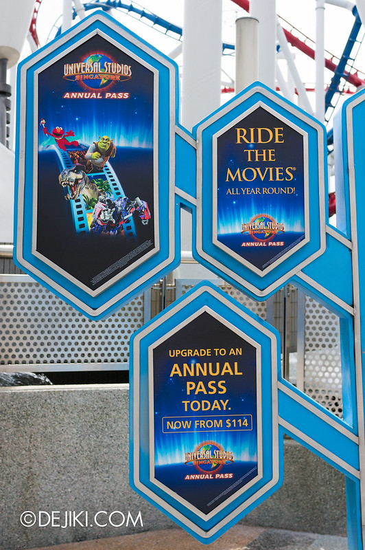 USS May Park Update - Annual Pass signage 2