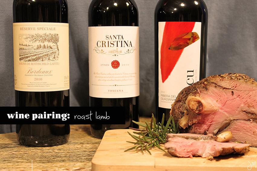 Julip Made wine pairing lamb2