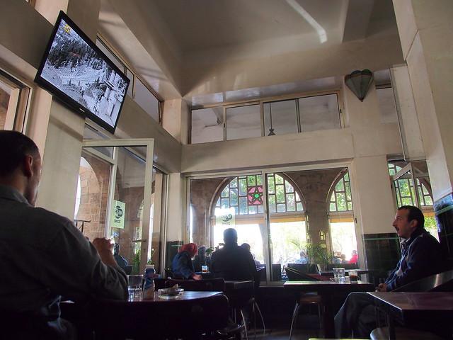 茶館內的景色