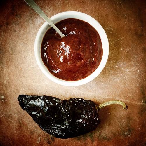 Ancho Rhubarb Ketchup