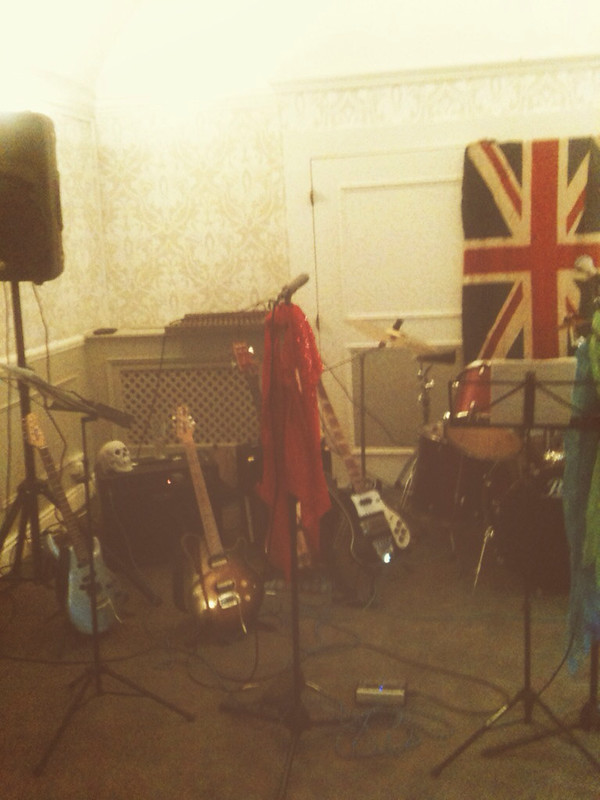 Instruments set up
