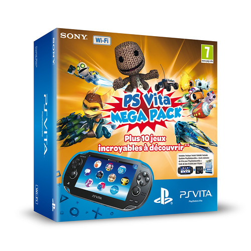 ps vita mega pack une playstation vita wifi 10 jeux et une carte m moire de 8 go. Black Bedroom Furniture Sets. Home Design Ideas