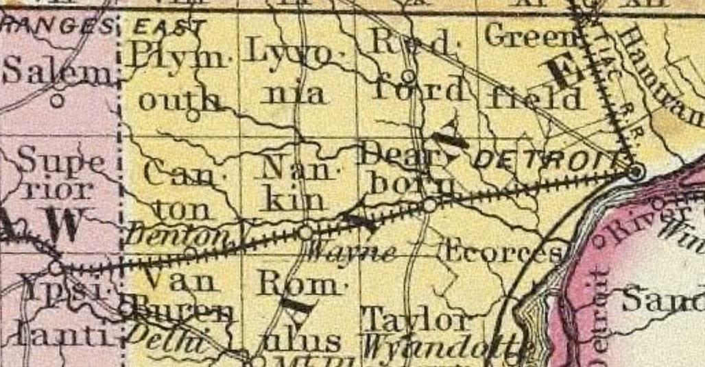 Nankin Mills History  David Dean Project