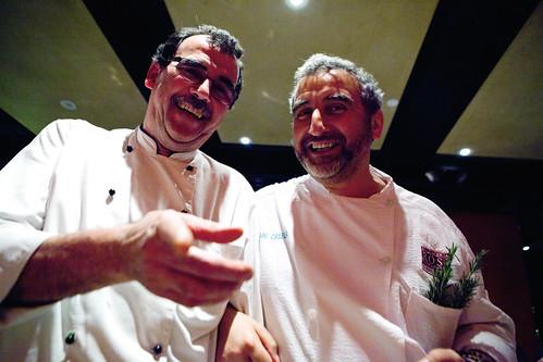 Chef Emilio Barbieri & Chef Cesare Casella