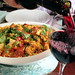 Paella Mixta & Merlot by Serigrapher