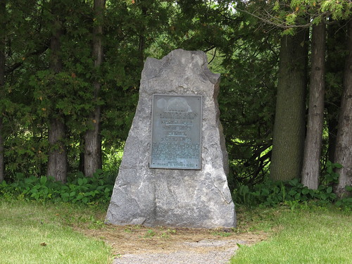 45th Parallel Marker, Near Peshtigo, Wisconsin