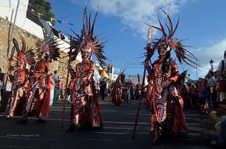 Grand Parade of the Moors & Christians/Mojácar/2013