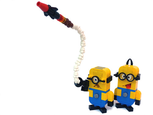 Minion with rocket launcher