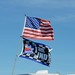 Flags fly at Pocono Raceway