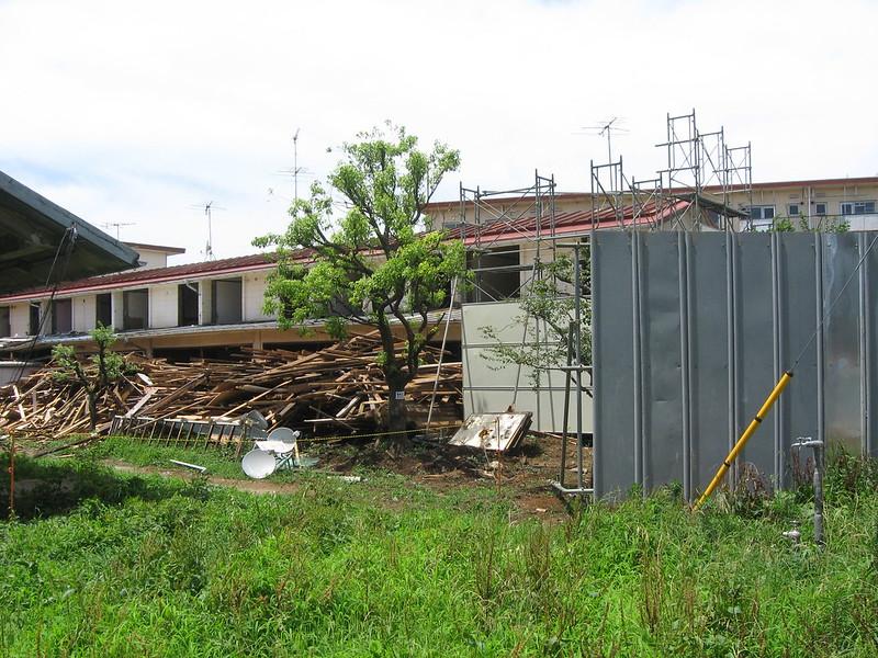 阿佐谷住宅 解体中