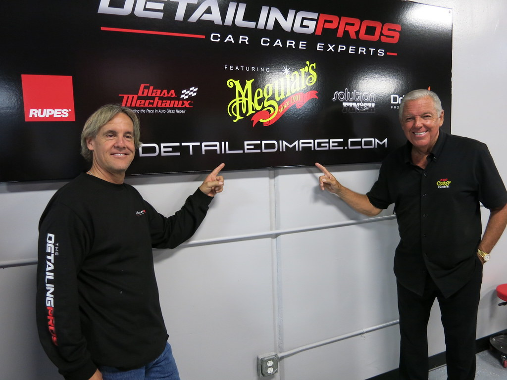 2013 California Car Care Expo Day 2 Mel Craig and Barry Meguiar