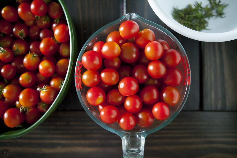 Oven Roasted Creamy Cherry Tomato SauceIMG_3692