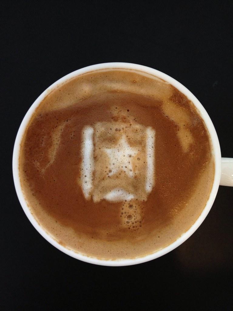 Today's latte, Wunderlist.