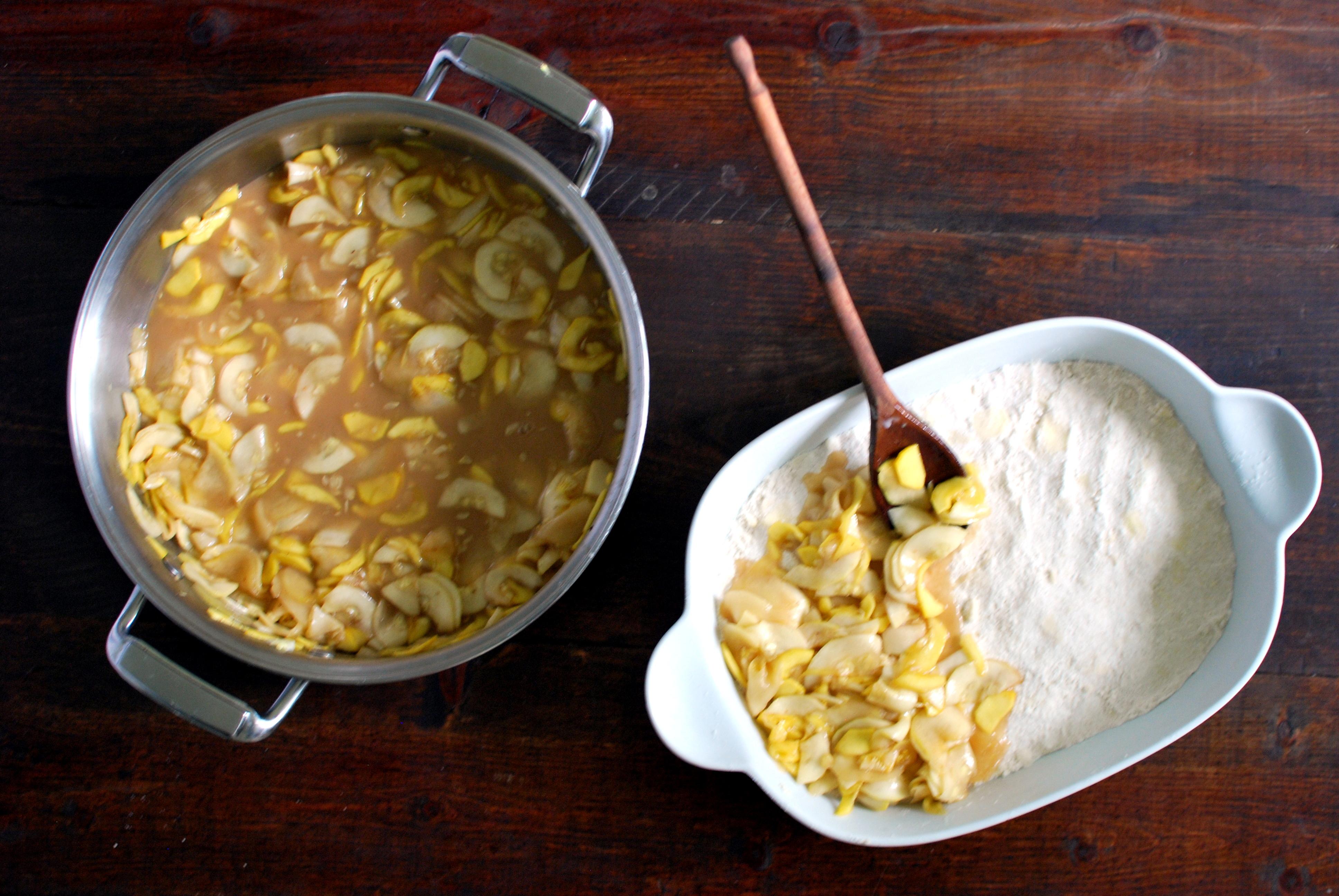 Zucchini Crumble Dessert Cake Recipe